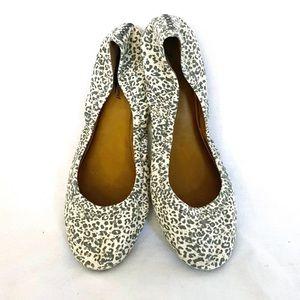 Lucky Brand Shoes - Lucky Brand cotton Cheetah leopard ballet flats 10